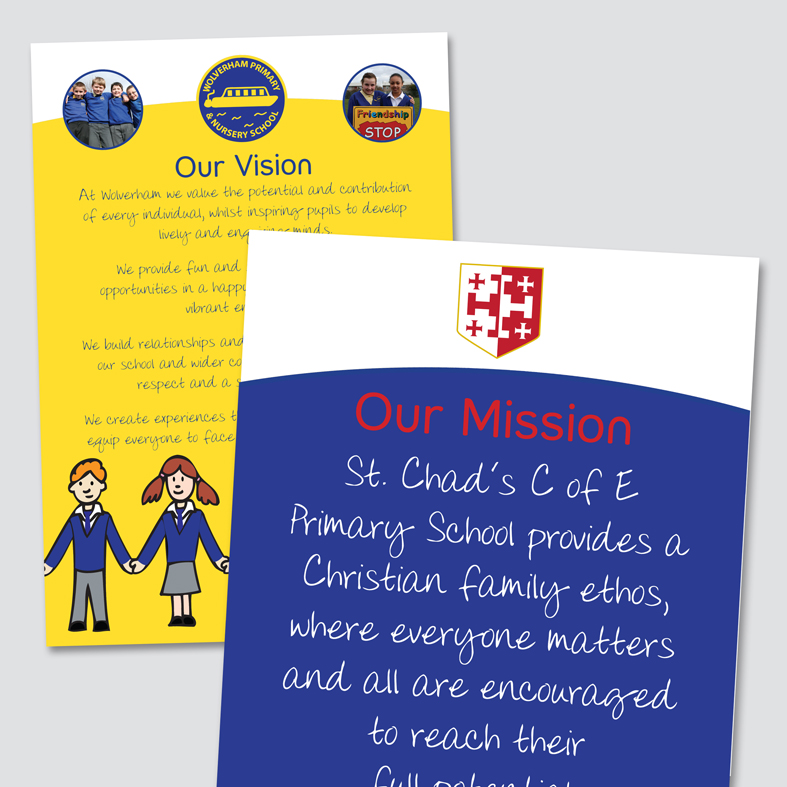 Mission and Vision Panels